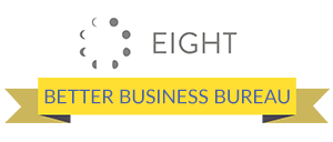 Eight Better Business Bureau A+ Rating