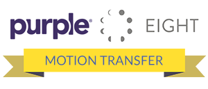 Best for Motion Transfer: Tie for Purple and Eight Sleep